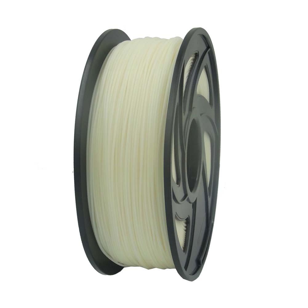 abs filament f r 3d drucker printer 1 75 mm 1kg spule trommel rolle in natur ebay. Black Bedroom Furniture Sets. Home Design Ideas