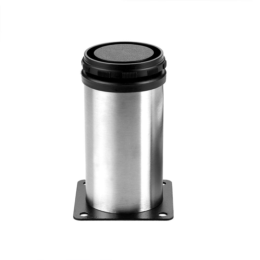 Round Furniture Cabinet Metal Legs Adjustable Stainless Steel Kitchen Feet Ebay