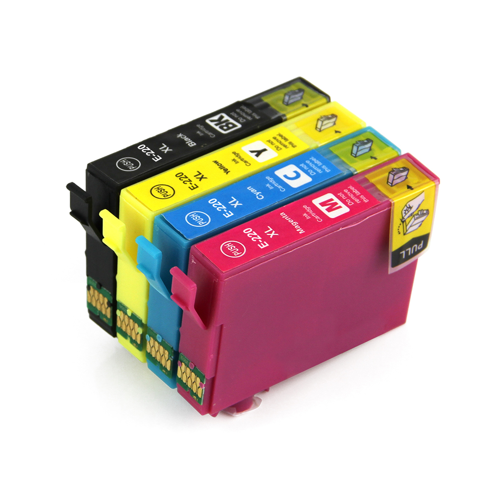 Compatible Ink Cartridges 220XL For Epson WorkForce WF