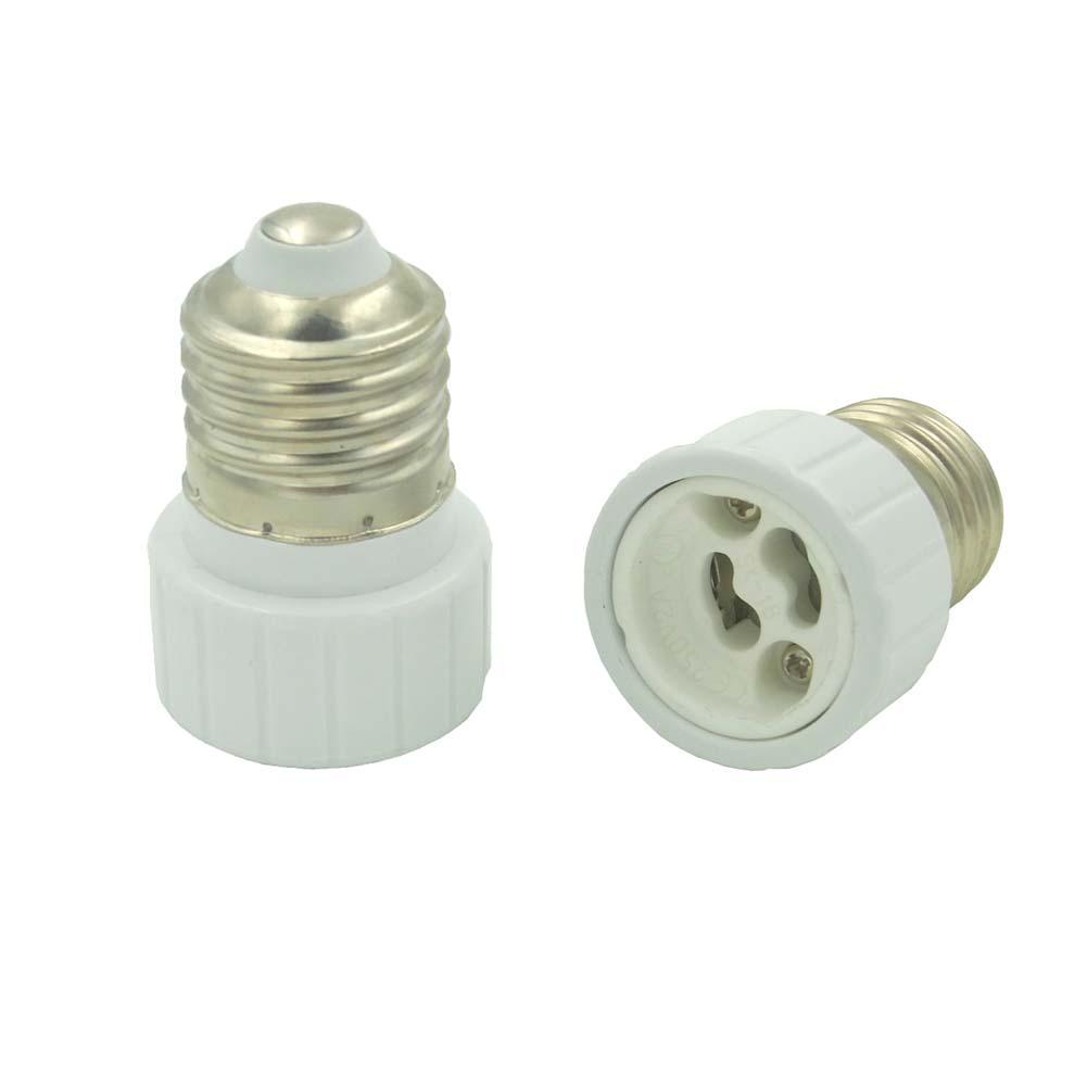 ampoule de lampe adaptateur prise converti e27 douille pour gu10 ebay. Black Bedroom Furniture Sets. Home Design Ideas