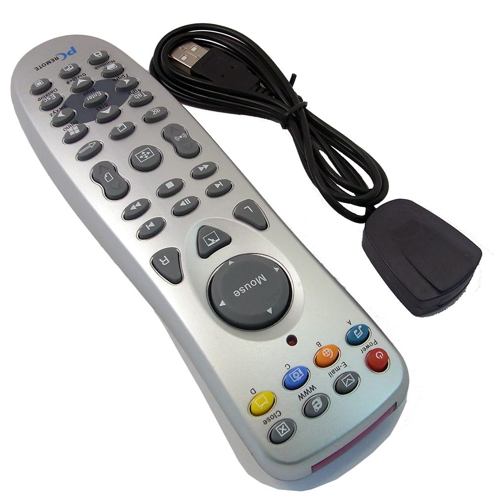 PC Remote Control + USB IR Empfänger für Windows Media Center