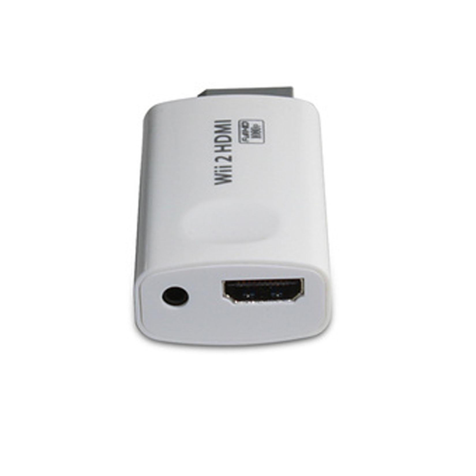 wii vers hdmi audio vid o adaptateur convertisseur 720p 1080p hd sortie ebay. Black Bedroom Furniture Sets. Home Design Ideas