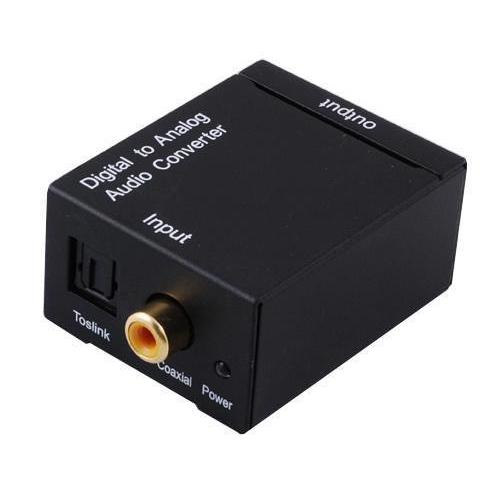 digital optisch toslink koaxial auf analog l r rca audio konverter adapter kabel ebay. Black Bedroom Furniture Sets. Home Design Ideas