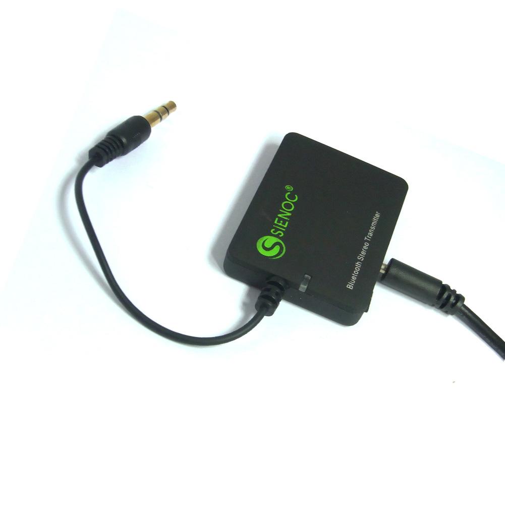 bluetooth audio transmitter sender mit 3 5mm klinke. Black Bedroom Furniture Sets. Home Design Ideas