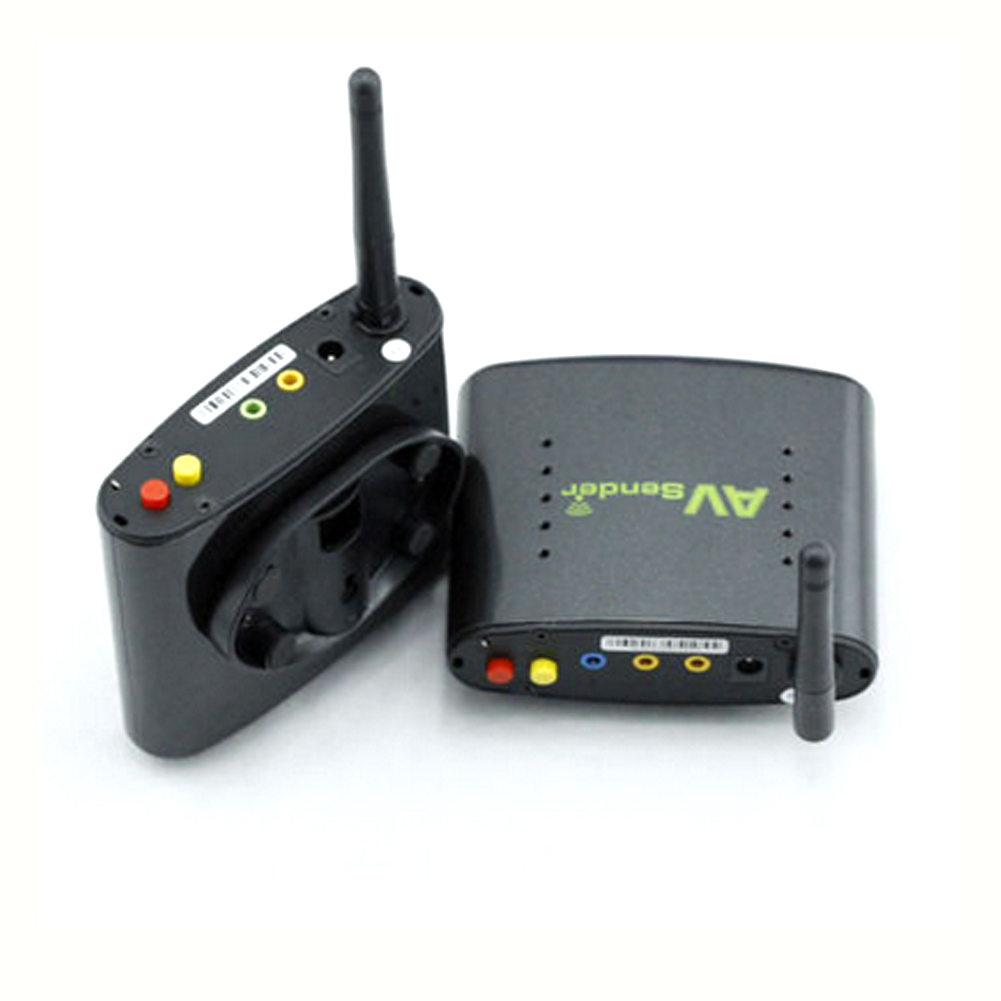 Wireless Transmitters And Receivers: PAT246 STB Wireless Video Audio Sender Kit With IR Remote