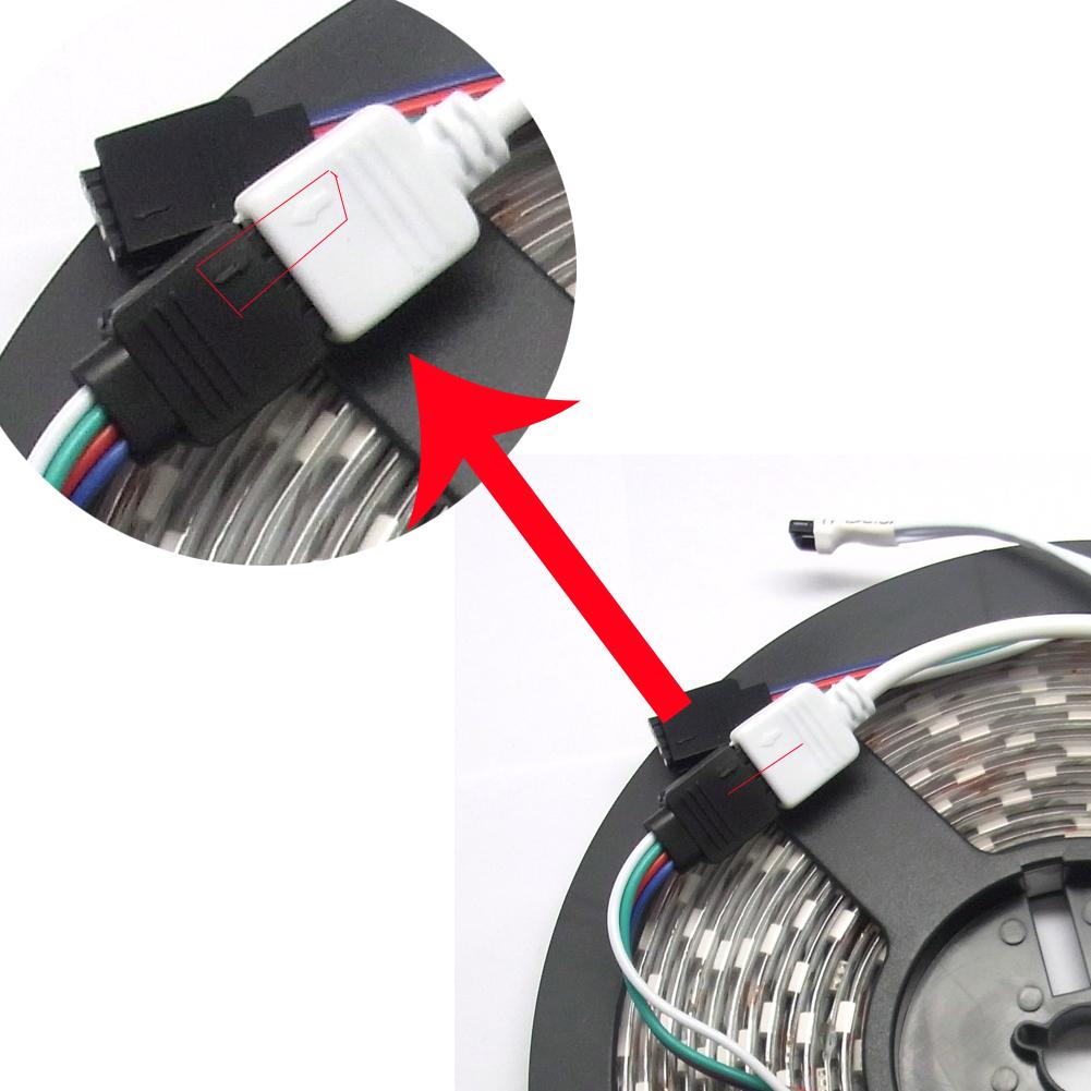 25m rgb led smd band streifen lichterkette stripe leiste fernbedienung netzteil ebay. Black Bedroom Furniture Sets. Home Design Ideas