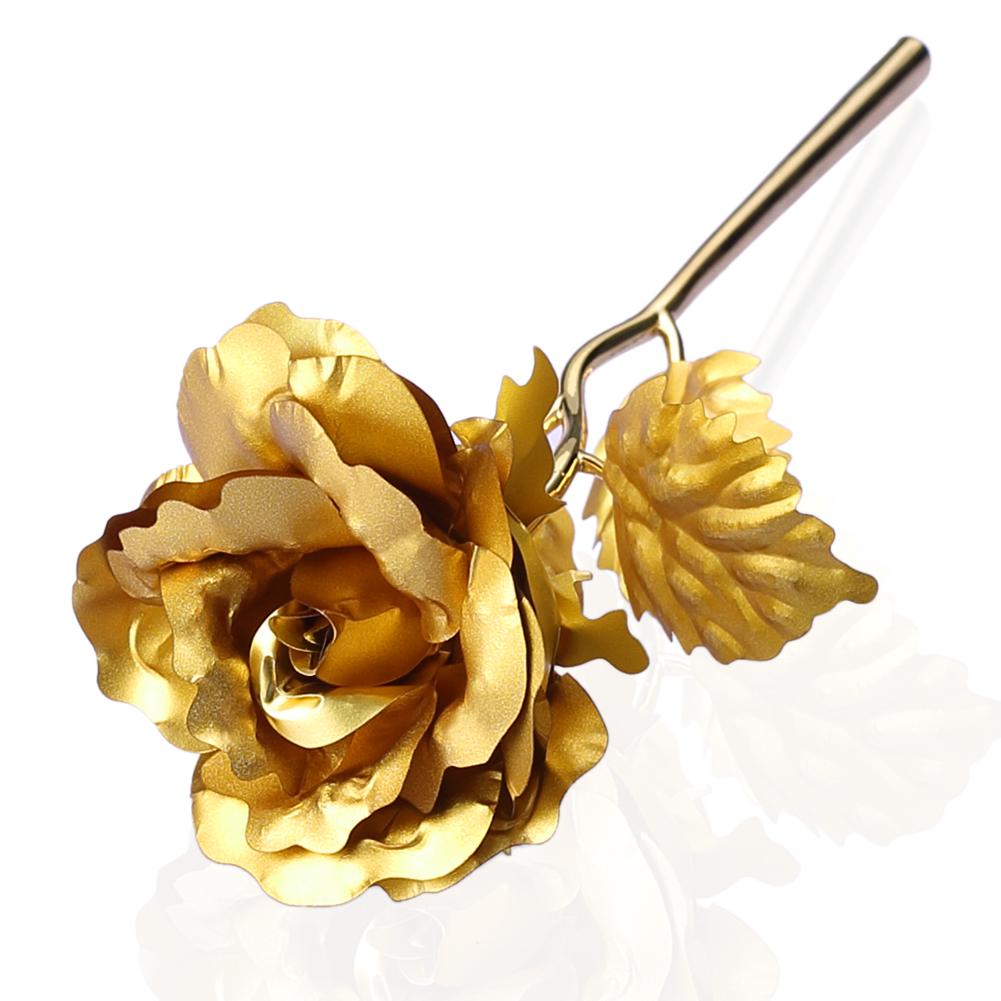 goldene rose f r ewige liebe geschenk valentinstag. Black Bedroom Furniture Sets. Home Design Ideas
