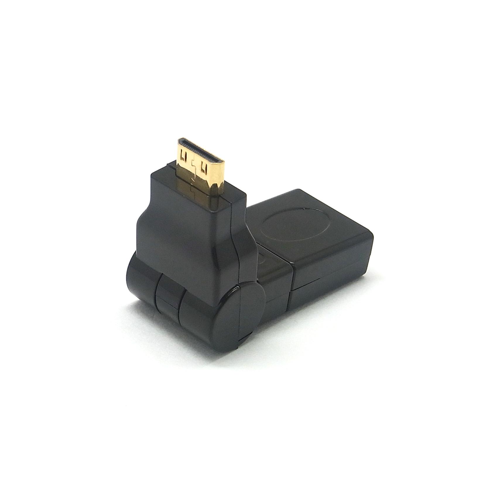 mini hdmi micro hdmi adapter zu auf hdmi stecker buchse kupplung winkel ebay. Black Bedroom Furniture Sets. Home Design Ideas