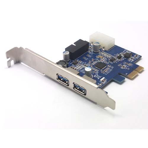 2 ports usb3 0 pci karte f r motherboard kompatibel mit pci e 20pin verl ngern ebay. Black Bedroom Furniture Sets. Home Design Ideas